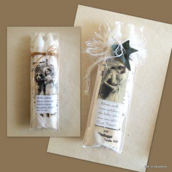Kahden kynttilän pakkaus