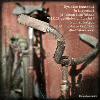 Ruosteessa kirstinkammari.fi